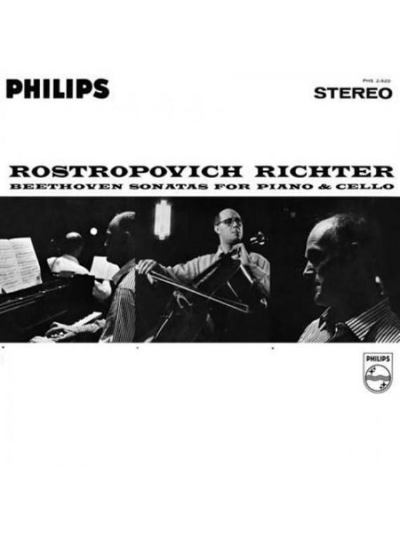 Beethoven Sonates pour Piano & Violoncelle
