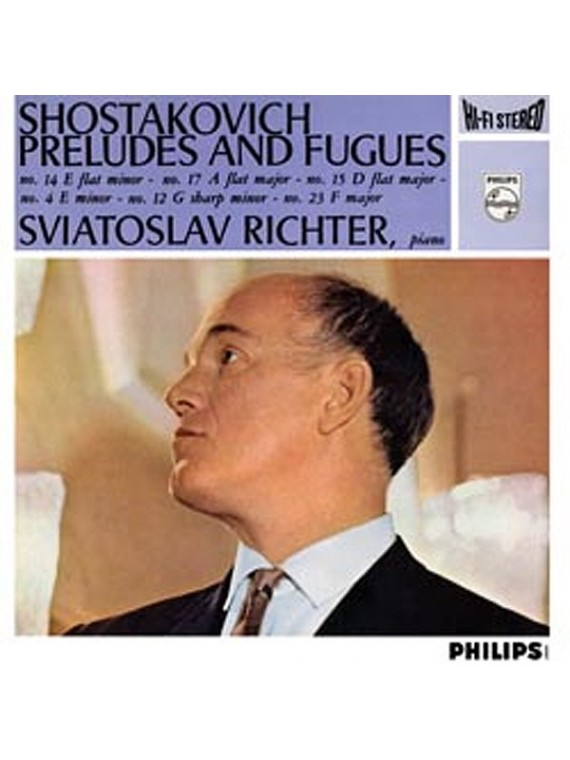 Shostakovich : Preludes And Fugues Richter