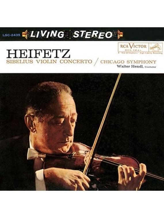 Jascha Heifetz  Walter Hendl Sibelius Violin Concerto in D Minor