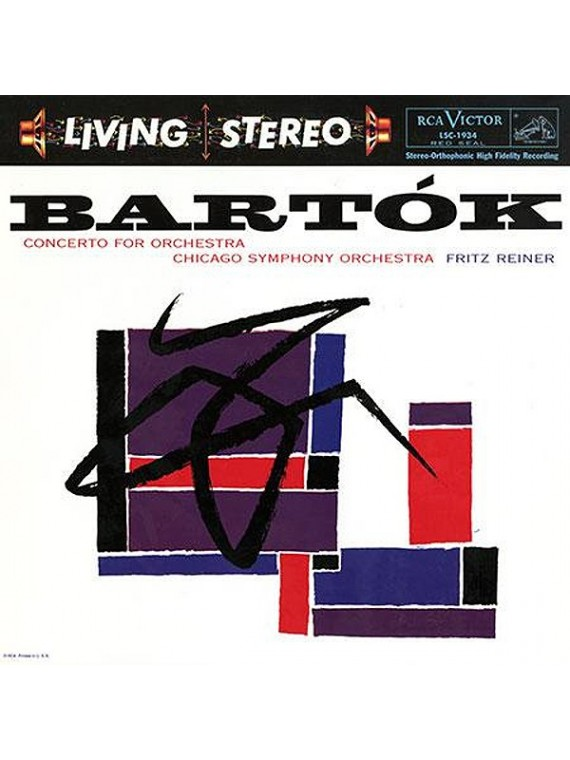Bartok  Concerto for orchestra Fritz Reiner