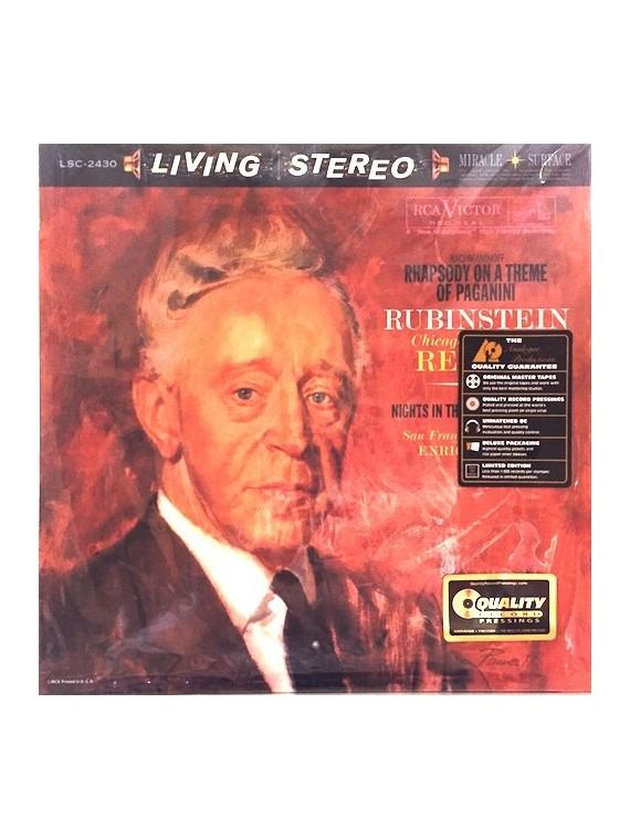 Rubinstein Rachmaninoff Falla  – Rhapsody On A Theme Of Paganini - Nights In The Gardens Of Spain