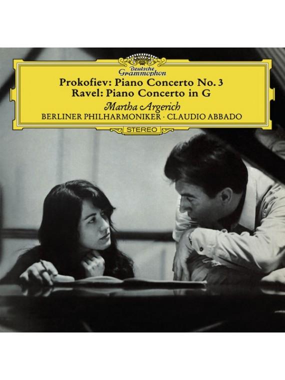 Prokofiev: Piano Concerto  N°3 / Ravel: Piano Piano Concerto en Sol  Martha Argerich