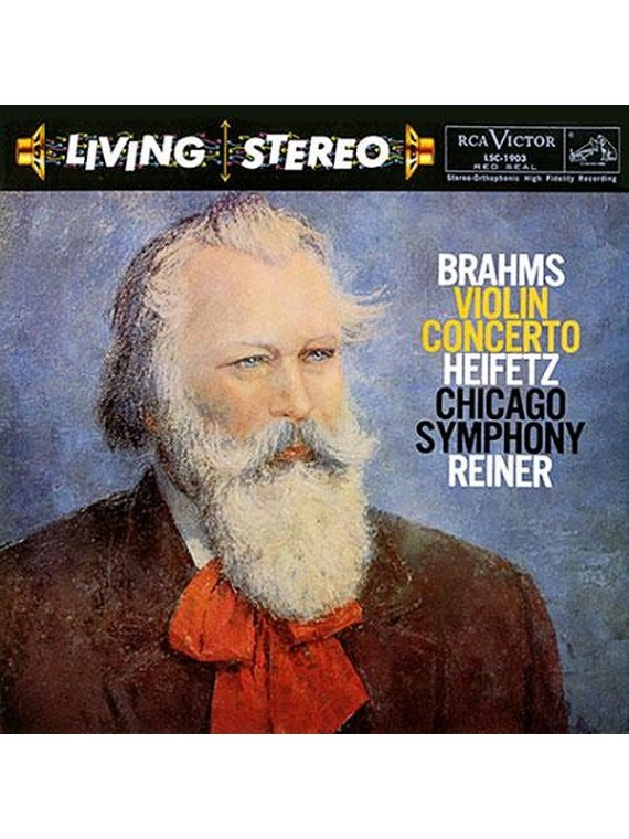 Jascha Heifetz  Brahms Violin Concerto