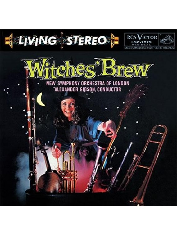 Alexander Gibson  Witches' Brew  Une nuit sur le mont Chauve /  Mephisto Waltz / Danse Macabre