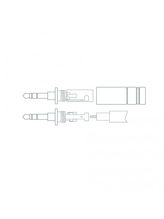 Element Metik  mini jack - mini jack (1m)