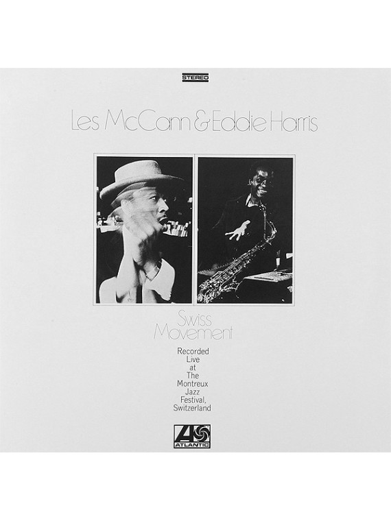 Les McCann & Eddie Harris ‎– Swiss Movement