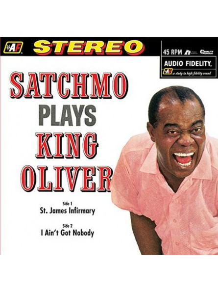 Louis Armstrong & His Orch. – Satchmo Plays King Oliver
